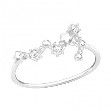 August-Virgo - 925 Sterling Silver Rings with Zirconia stones A4S39351