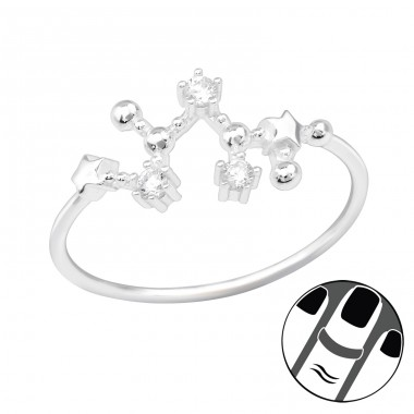 November-Sagittarius - 925 Sterling Silver Midi Rings A4S39338