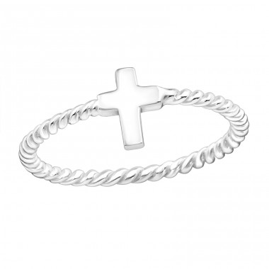 Cross - 925 Sterling Silver Basic Rings A4S16887