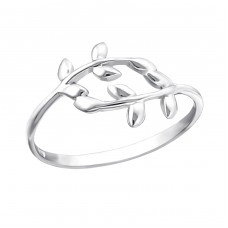 Branches - 925 Sterling Silver Basic Rings A4S17195