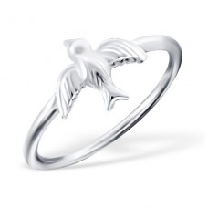 Bird - 925 Sterling Silver Basic Rings A4S18951