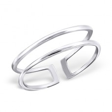 Line - 925 Sterling Silver Basic Rings A4S20659