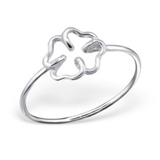 Clover - 925 Sterling Silver Basic Rings A4S20772