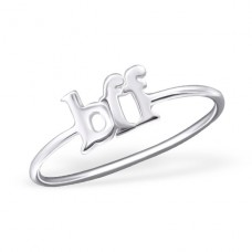 Bff - 925 Sterling Silver Basic Rings A4S23775