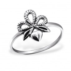 Heart - 925 Sterling Silver Basic Rings A4S24597