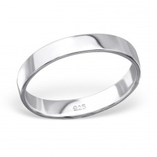 Band - 925 Sterling Silver Basic Rings A4S28203