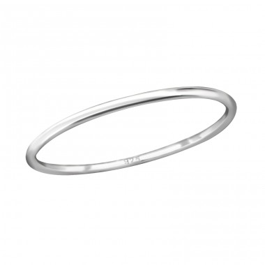 Band - 925 Sterling Silver Basic Rings A4S29250