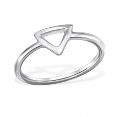 Triangle - 925 Sterling Silver Basic Rings A4S29253