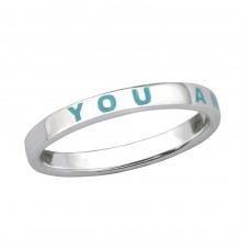 You And Me - 925 Sterling Silver Basic Rings A4S29263