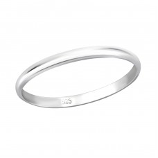 Band - 925 Sterling Silver Basic Rings A4S29452