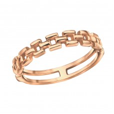 Chain - 925 Sterling Silver Basic Rings A4S30391