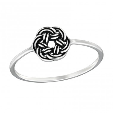 Celtic - 925 Sterling Silver Basic Rings A4S32288