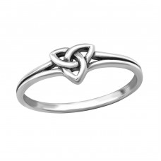 Celtic - 925 Sterling Silver Basic Rings A4S32291