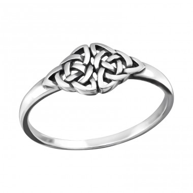 Celtic - 925 Sterling Silver Basic Rings A4S32297