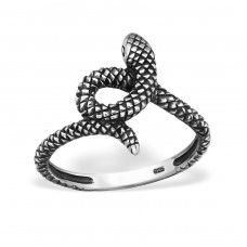Snake - 925 Sterling Silver Basic Rings A4S32304