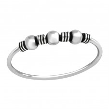 Bali - 925 Sterling Silver Basic Rings A4S33649