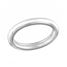 Band - 925 Sterling Silver Basic Rings A4S34852