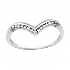 Heart - 925 Sterling Silver Basic Rings A4S35680