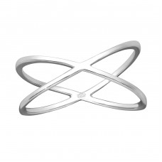 Cross - 925 Sterling Silver Basic Rings A4S35706