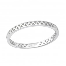 Zig Zag - 925 Sterling Silver Basic Rings A4S36156