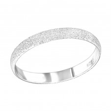 3mm Band - 925 Sterling Silver Basic Rings A4S36586