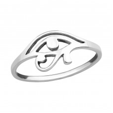 Eye Of Horus - 925 Sterling Silver Basic Rings A4S36758