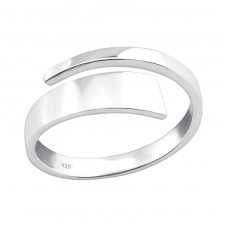 Open - 925 Sterling Silver Basic Rings A4S36759