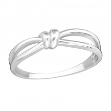 Knot - 925 Sterling Silver Basic Rings A4S37192
