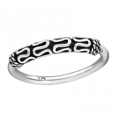 Bali - 925 Sterling Silver Basic Rings A4S37861