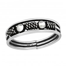 Bali - 925 Sterling Silver Basic Rings A4S37862
