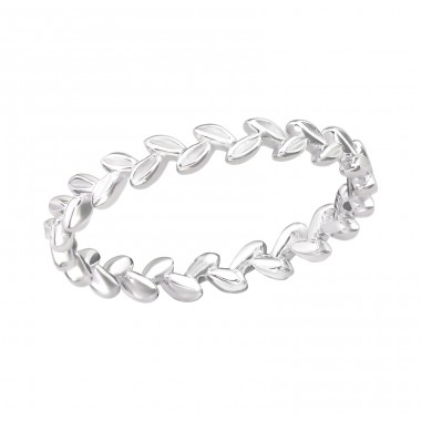 Branch - 925 Sterling Silver Basic Rings A4S37907