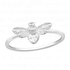 Bee - 925 Sterling Silver Basic Rings A4S38411
