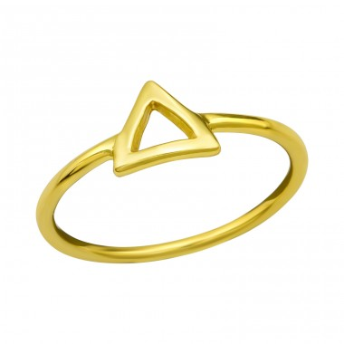 Triangle - 925 Sterling Silver Basic Rings A4S38524