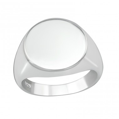 Round - 925 Sterling Silver Basic Rings A4S38661
