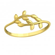 Branches - 925 Sterling Silver Basic Rings A4S38942