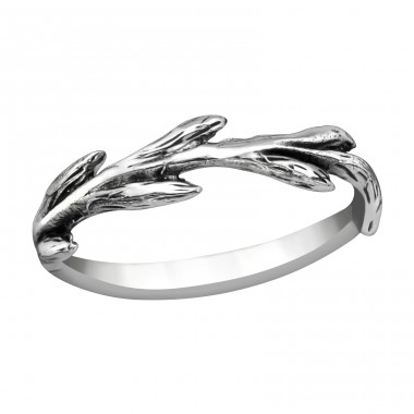 Branch - 925 Sterling Silver Basic Rings A4S38980