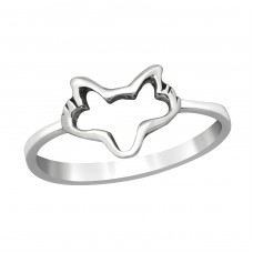 Wolf - 925 Sterling Silver Basic Rings A4S38983