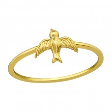 Bird - 925 Sterling Silver Basic Rings A4S39249
