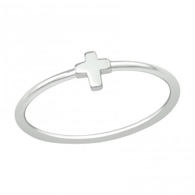 Cross - 925 Sterling Silver Basic Rings A4S39499