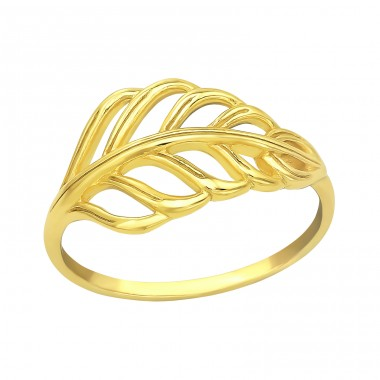 Leaves - 925 Sterling Silver Basic Rings A4S39562