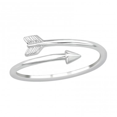 Arrow - 925 Sterling Silver Basic Rings A4S39659
