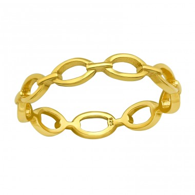 Chain - 925 Sterling Silver Basic Rings A4S40055