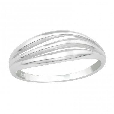 Stackable - 925 Sterling Silver Basic Rings A4S40058