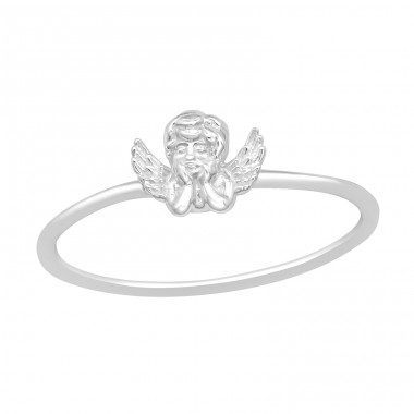 Cupid - 925 Sterling Silver Basic Rings A4S40459