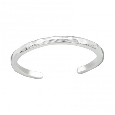 Plain - 925 Sterling Silver Toe Rings A4S20982