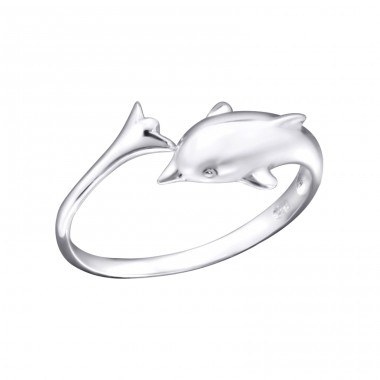 Dolphin - 925 Sterling Silver Toe Rings A4S21056