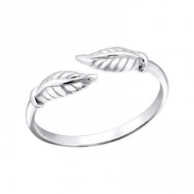 Leaf - 925 Sterling Silver Toe Rings A4S21270