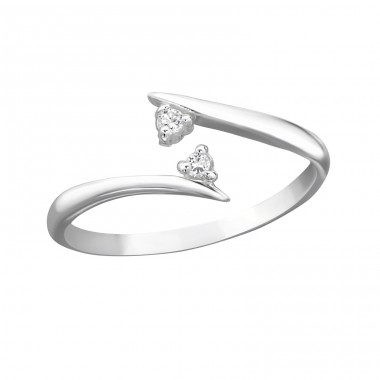 Converge - 925 Sterling Silver Toe Rings A4S21276