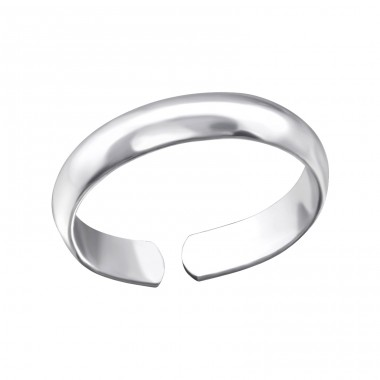 Plain - 925 Sterling Silver Toe Rings A4S24326