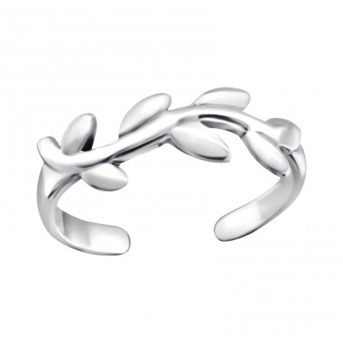 Vine - 925 Sterling Silver Toe Rings A4S26188